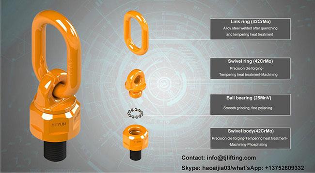 части за универсален подемен пръстентящ се подемен пръстенng