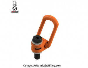 swivle free samples lifting point Metric thread M12 swivel lifting shackle