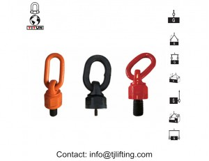 swivel hoist ring used for geothermal power plant projects/swivel load ring