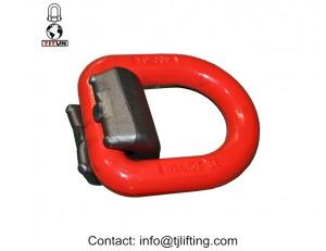 De elevación de soldadura de carga en los anillos de carga d