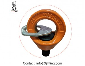 "swivel eyebolt with bolt size M8 to M48 and from 5/16"" to 3"""