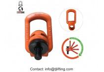 lift solution adjustable eye bolts side pull swivel hoist ring