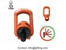 lift solution adjustable eye bolts side pull swivel hoist ring