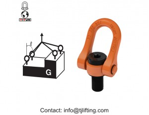 3/8'' UNC Central pull shackle