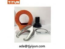 Метрична резба Въртяща Eyebolt повдигащ продукт / Въртящи пръстени за натоварване / Въртящи се пръстени за повдигане