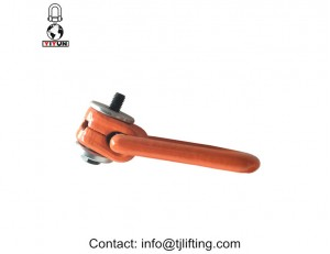 Alloy-steel swivel side-pull lifting point/metric thread