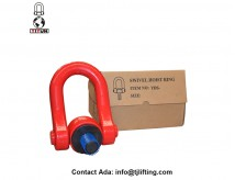 ARTICULATED HOIST RING/360°SWIVEL/SCREW-IN/UNIVERSAL