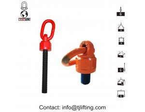 Rodamiento de bolas punto de elevación / cáncamo giratorio universal