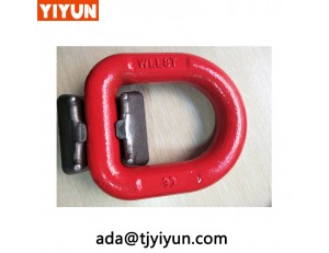 Buyers Rope Rings Heavy Duty Forged D-Ring for Marine Hardware