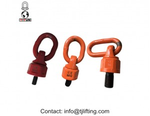 CE and ISO9001 certification approve swivel shackle 360 degree rotating