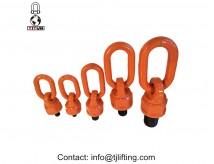 Anneau pivotant d'assemblage d'écharpe de chaîne G80 acier d'alliage