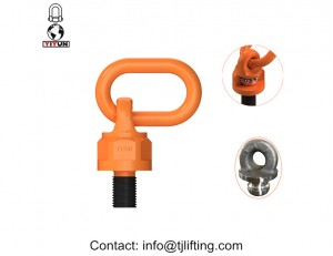 Chain accessory rigging hardware swivel shackle 4 times safety factor
