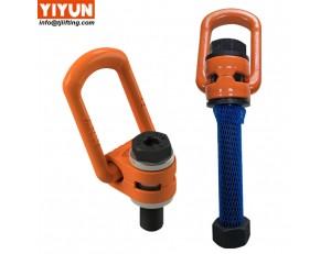 chinese supplier YIYUN hoist ring stainless steel m24 swivel eye bolt