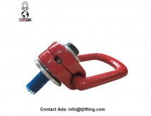 360 degree rotatability tool-free mounting swivel hoist rings