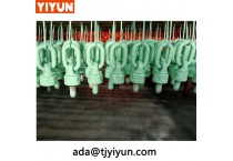 wholesale lifting point alibaba M12 triangle hoist rings for chain and hook