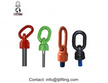 Komponen perlengkapan 360 swivel hoist ring / 180 pivot point