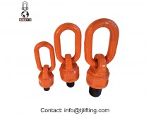 forged alloy steel swivel hoist ring 360 rotation with 90 pivot