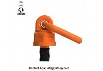 G80 42CrMo Metric size universal swivel hoist ring