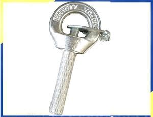 Longo Bar Longo Parafusos Galvanizado G80 Giratório Parafuso Olhal Giratório Eyepoint com chave