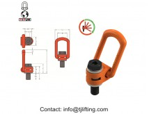 heavy-duty swivel hoist ring/Side-Pull Hoist Rings