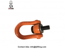 heavy duty central pull swivel shackle for loading Engine components