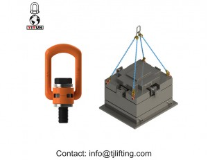 Høj trækstyrke Lifting Ringe G80 Hoist Swivel Eye Bolt
