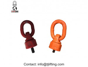 Rotated 360 degree tool free mounting vertical load ring