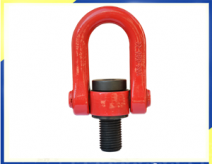 Industrial Equipment YDS M16M18 Swivels Hoist Rings / Swivel Shackle Swivel Lifting Point WLL2T For Rigging