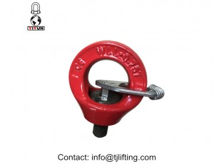 ISO approved  m30 male hoist rings