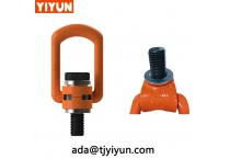 Jordan Rigging u bolt steel eye bolt anchor point hoist ring with Eye Bolts
