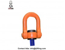 Forged eye swivel hoist ring for lifting M42