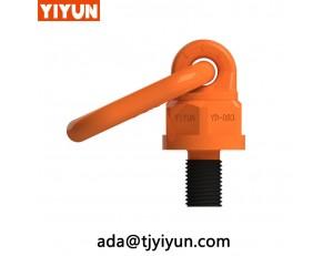 g80 pivot swivel eye bolts , G80 hoist ring Multi-directional Lifting Point Eye-Bolt