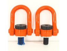 online hardware m80 double shackle hoist Lifting load ring mold lifting point