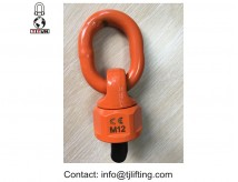 Rotated 360 degree tool free mounting load ring