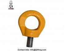 בטיחות 360 תואר המסתובב להניף טבעת המסתובב חבלול חומרת לולאות בורג עבור אזיקים בתעשייה וכו ייצור חשמל הימי