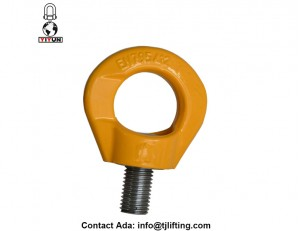 Safety 360 degree swivel hoist ring rigging hardware swivel eyebolts for shackles in marine power generation etc industry