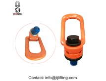 Side Pull putar Hoist Rings