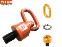 Swivel eye bolt with ring and ball bearings/M24 WLL 3.5T/thread length 38.1mm