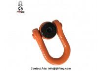 Swivel Hoist Ring HEAVY DUTY Bolt Ring Rigging Rope Chain D Rings 5/16-18