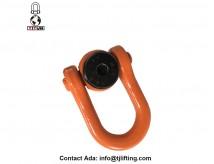 Anel de elevação giratório HEAVY DUTY Anel de aparafusamento Rigging Corda Corrente D Anéis 5 / 16-18