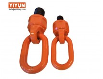 UNC thread pivot joint hardware/forged hoist rings