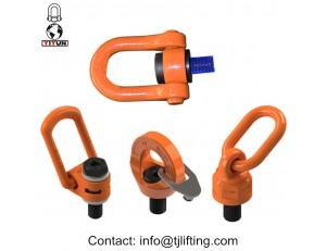 weldable lifting point eye alloy steel swivel eye bolt & grade 8 lifting eyebolts