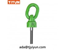 YD-083 M56 WLL 28 rigging hardware Swivels Hoist Rings / Vlbg Eye Bolts Swivel Lifting Point For Lifting