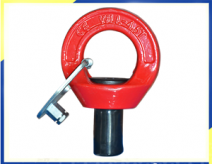 YD084 G80 Alloy Steel Eye Bolt Eye Point Pour Molding, Mines Béton Et Precast