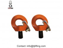 YD084 M14 WLL 0.75T G80 alloy steel Swivel Eye bolt