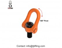 YDS swivel hoist ring/M8 double swivel shackle