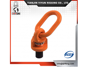 Yiyun Ditempa G80 orange Coated Swivel Hoist Ring