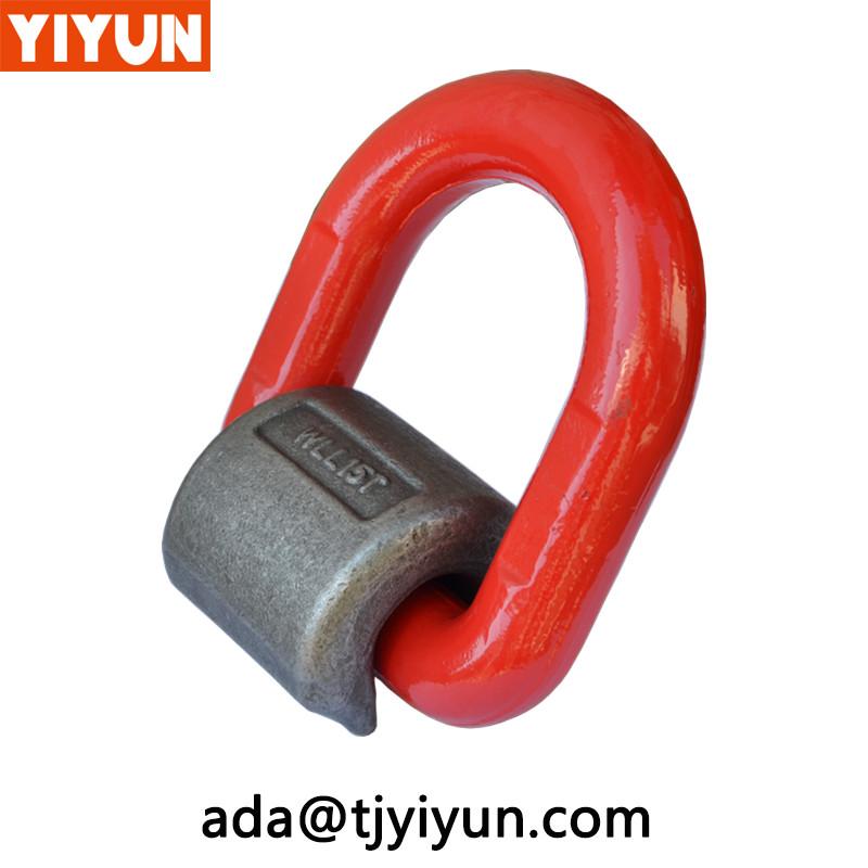 4:1 Faktor svejsning på D ring / Weld på Transport Ringe fremstillet af YiyunWeldFaktor svejsning på D-ringremstillet af Yiyun