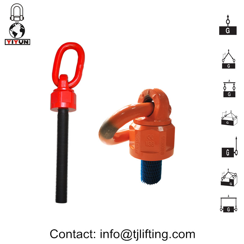 Сачмен лагер окачване / Universal въртящ подемник пръстен