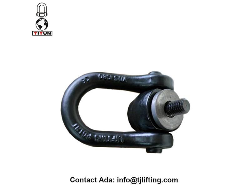 Grillete giratorio doble / giratorias de seguridad anillos de elevación